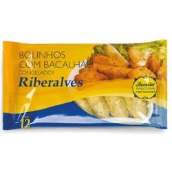 BOLINHO RIBERALVES DE BACALHAU 360G CONG. PC
