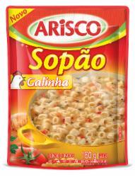 SOPAO ARISCO 160G GALINHA PC