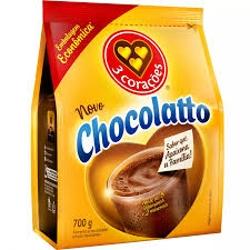 ACHOCOLATADO 3 CORACOES CHOCOLATTO 700G REFIL