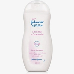LOCAO JOHNSONS SOFTLOTION 200ML LAV/CAMOMILA