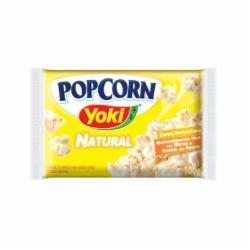PIPOCA YOKI POPCORN 100G NATURAL