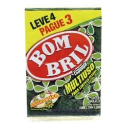 ESPONJA BOMBRIL M.USO LV4 PG3 ANTIBACT.
