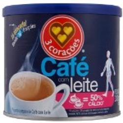 CAFE COM LEITE 3 CORACOES 330G