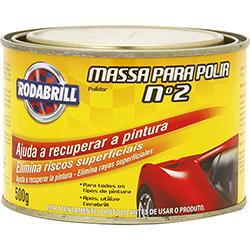 MASSA RODABRILL P/ POLIR 500G N.2 LT