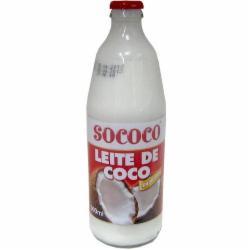 LEITE COCO SOCOCO VIDRO 500ML CONCENTR.