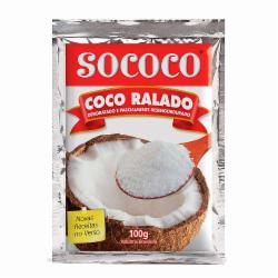 COCO SOCOCO RALADO 100G DESIDRAT. PC