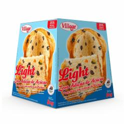 MINI PANETONE VILLAGE 80G LIGHT FRUT