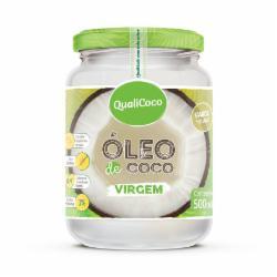 OLEO DE COCO QUALICOCO VIRGEM 500ML