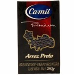 ARROZ GOURMET CAMIL 250G PRETO