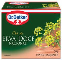CHA DR OETKER 20G ERVA DOCE