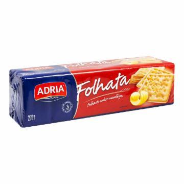 BISC. ADRIA CR.CRACKER 200G FOLHATA