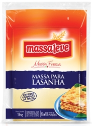 MASSA MASSALEVE LASANHA 1K PC