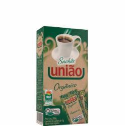 ACUCAR ORGANICO UNIAO C/40 SACHES CRISTAL