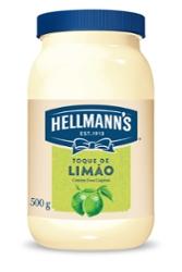 MAIONESE HELLMANNS 500G LIMAO
