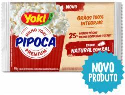 PIPOCA YOKI POPCORN 90G NATURAL C/SAL