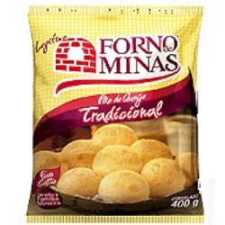 PAO DE QUEIJO FORNO DE MINAS CONG 400G TRADICIONAL