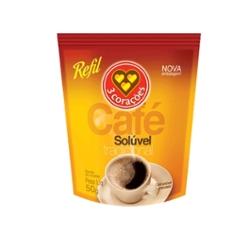 CAFE SOLUVEL 3 CORACOES REF. 50G SOLUVEL REF