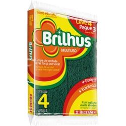 ESPONJA BRILHUS M.USO LV4 PG3