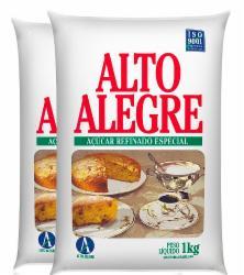 ACUCAR REFINADO ALTO ALEGRE 1KG