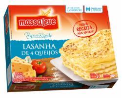 LASANHA MASSALEVE 600G 4 QUEIJOSCAR