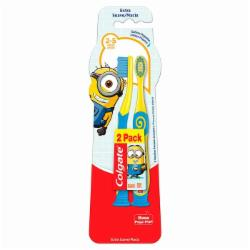 ESCOVA DENTAL COLGATE 2-5 2PK SMILES MINIONS