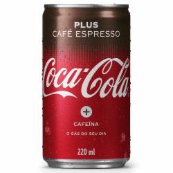 REFRIGERANTE COCA COLA 220ML CAFE EXPRESSO LT