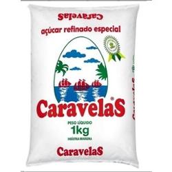 ACUCAR REFINADO CARAVELAS 1KG