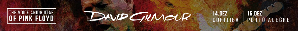 David Gilmour - Banner Oficial