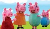 Peppa Pig com Elsa e Olaf