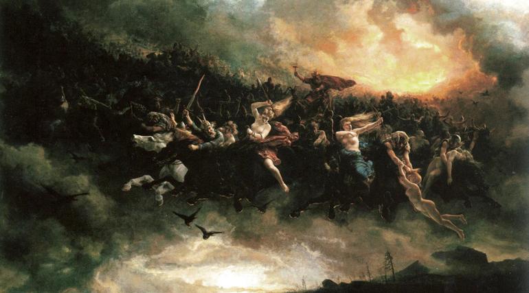 PALESTRA CULTURAL: Mitologia Nordica, Ragnarok