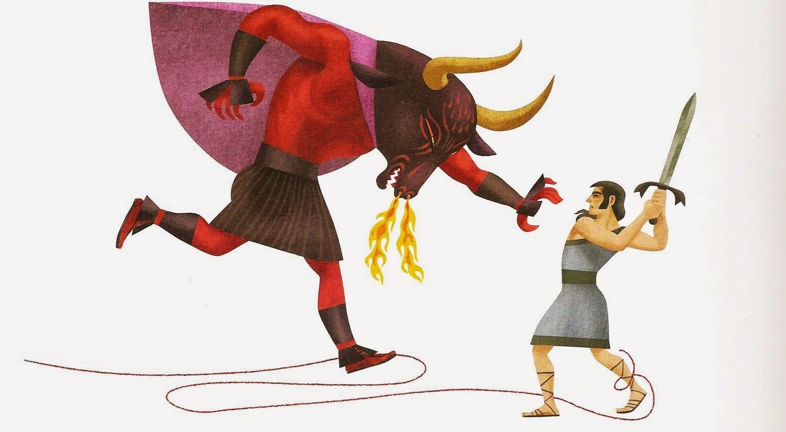 SEMANA DE MITOS: Teseu e o Minotauro