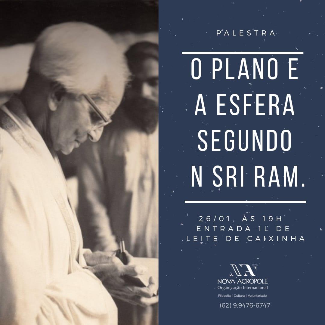 O Plano e a Esfera segundo Sri. Ram