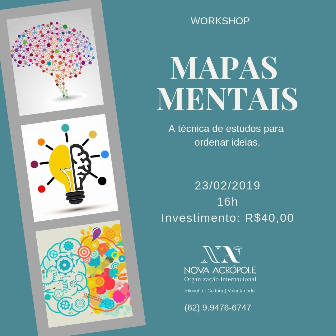 Workshop: Mapas Mentais