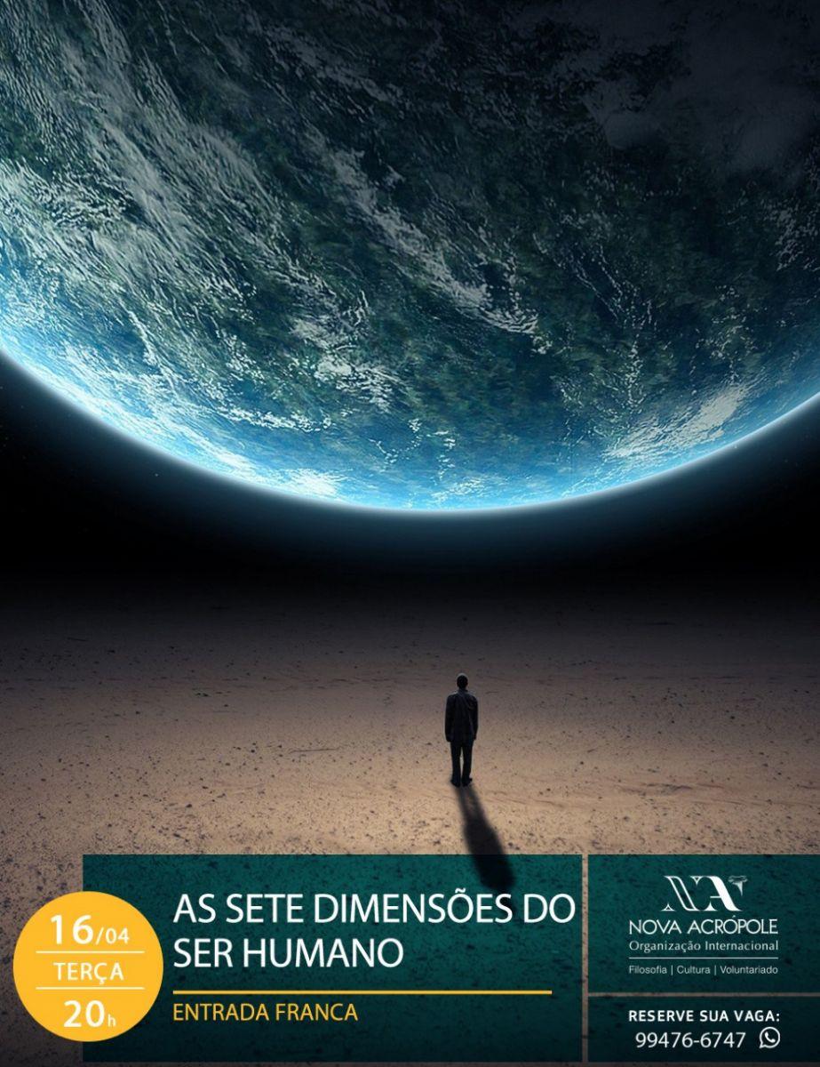 Início do Curso de Filosofia Aplicada: As Sete dimensões do Ser Humano