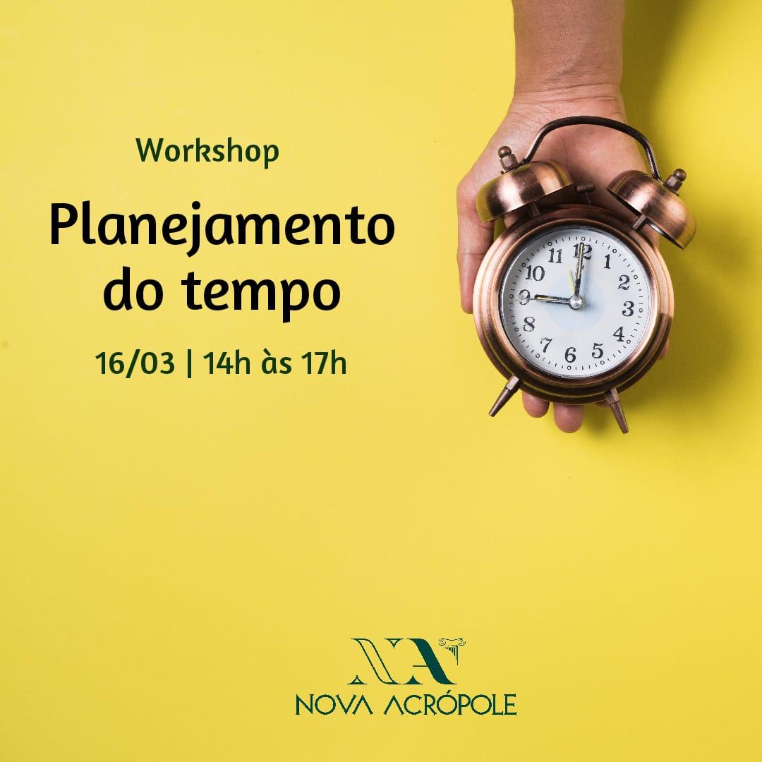 Workshop Planejamento do Tempo