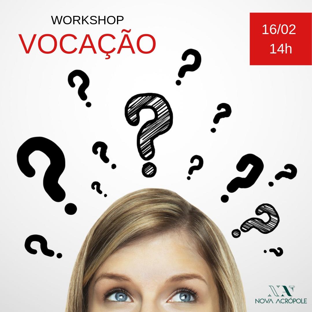 Workshop Vocação