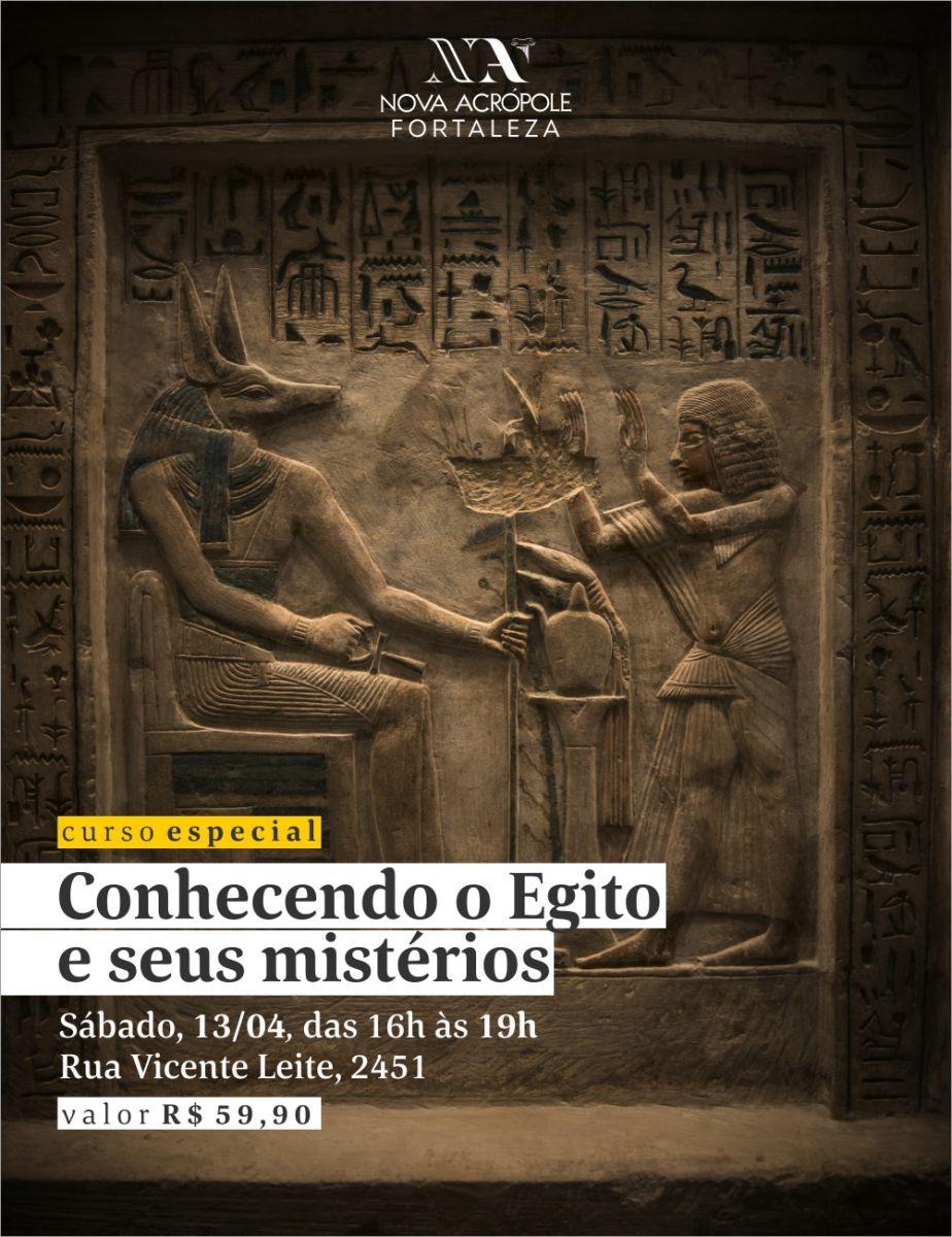 Curso Especial | Conhecendo o Egito e seus Mistérios