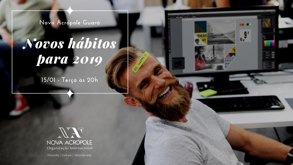 Novos hábitos para 2019