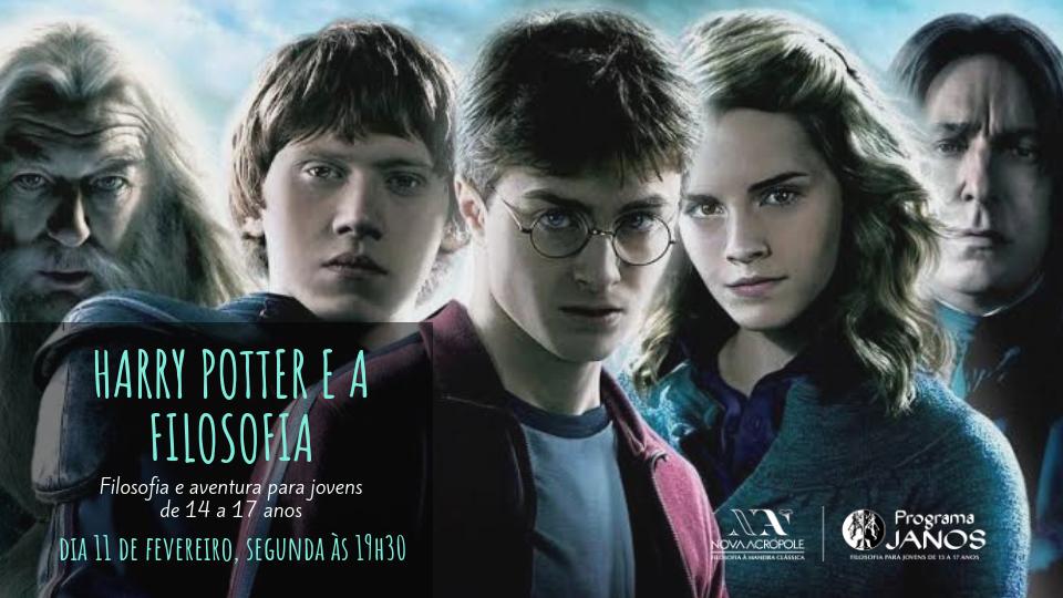 Palestra Janos - Harry Potter e a Filosofia