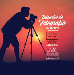 Workshop: intensivo de Fotografia!