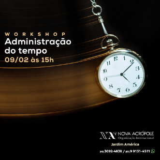 Workshop: administração do tempo