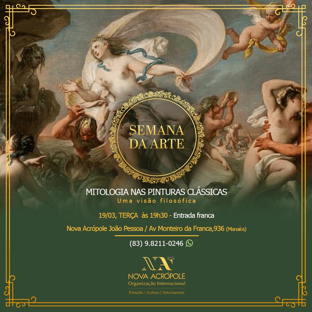 Semana da Arte: Mitologia nas pinturas clássicas