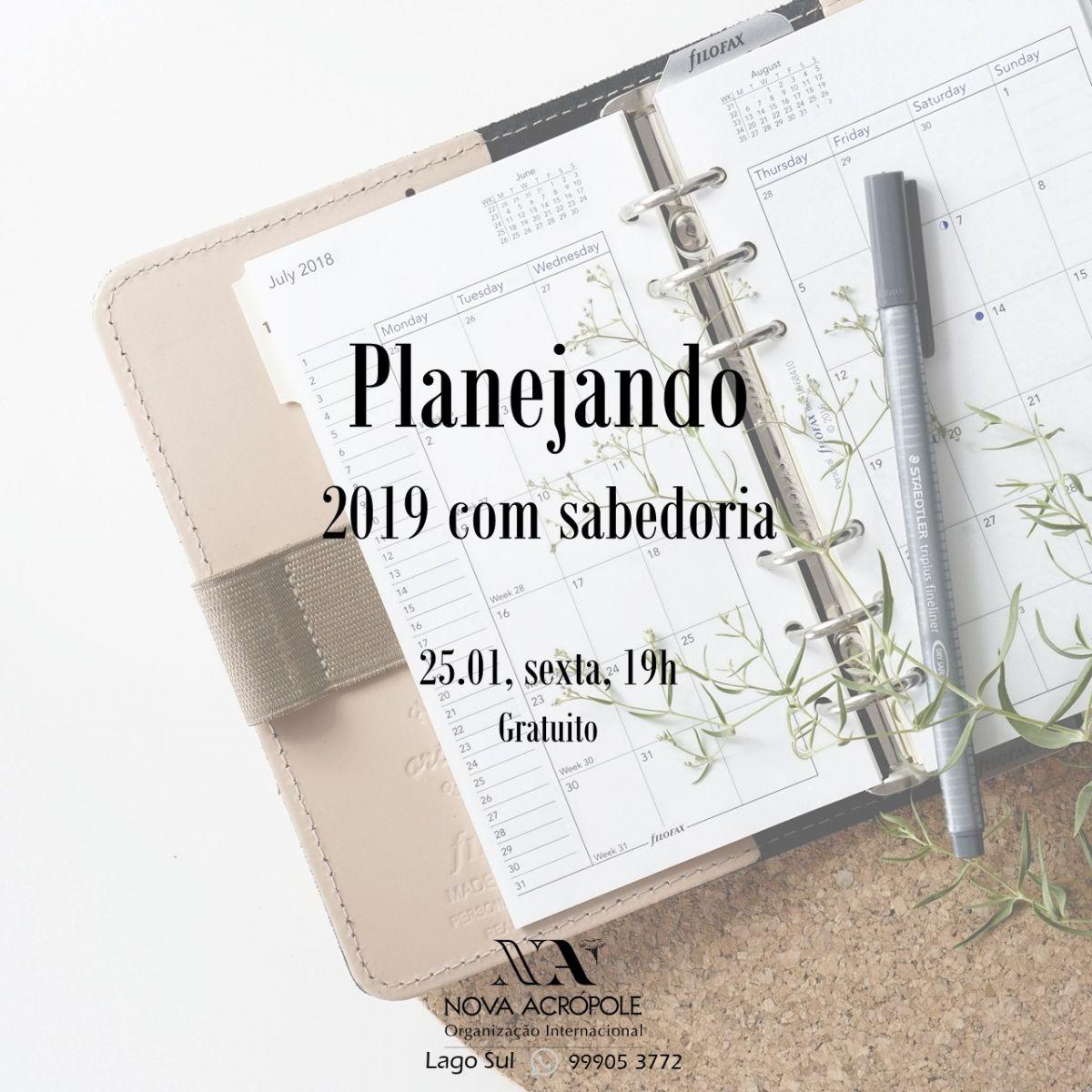 Planejando 2019 com sabedoria