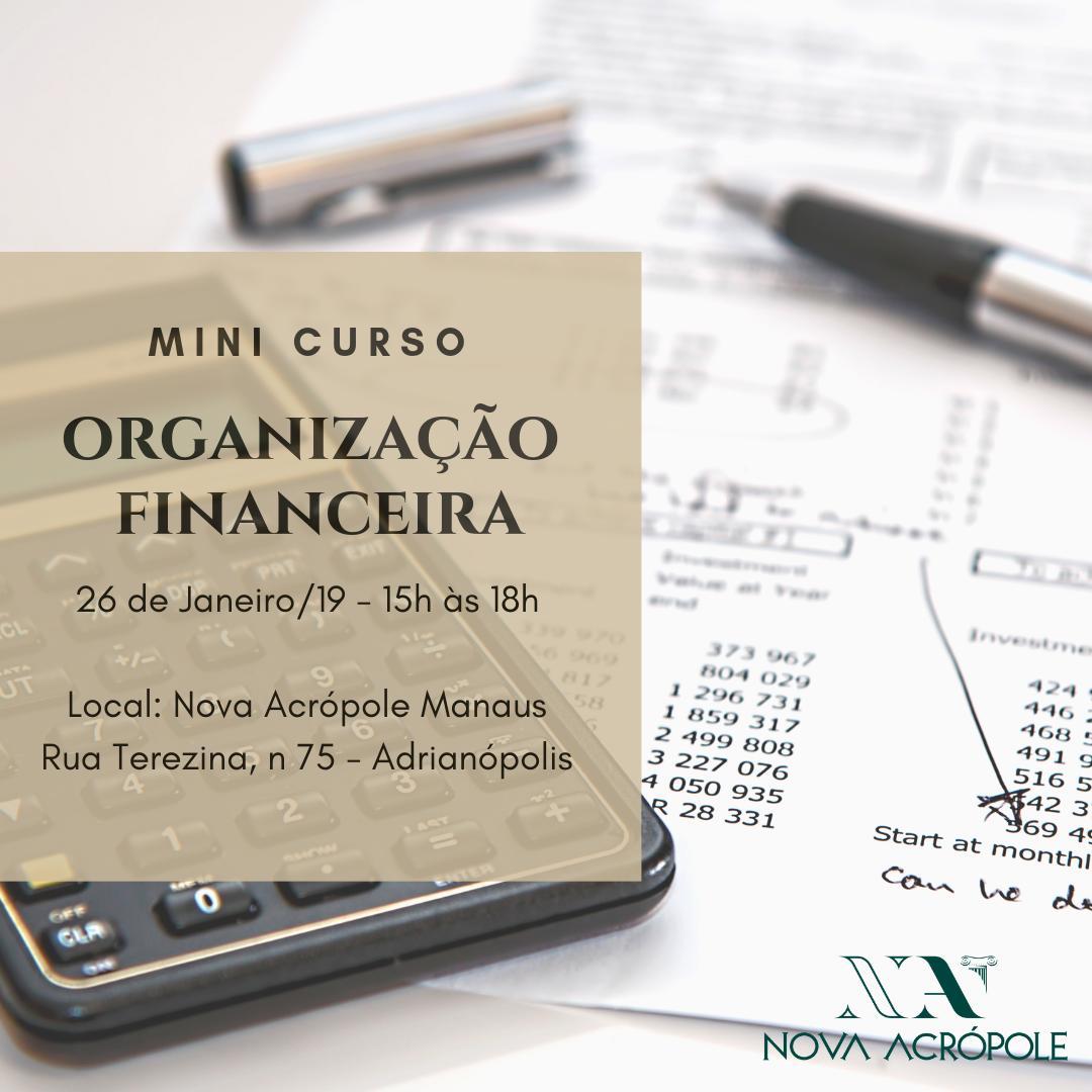 Minicurso de Organização Financeira