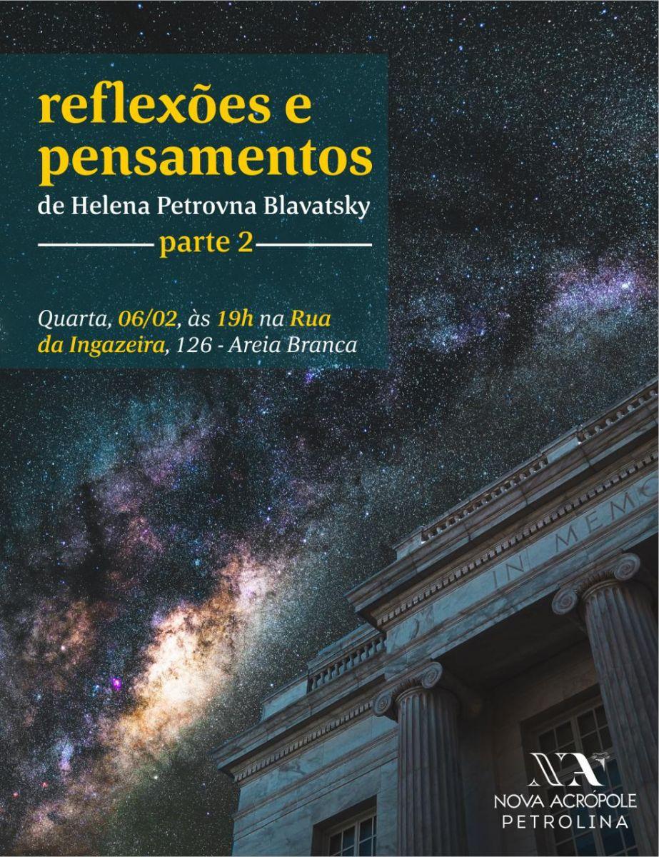 Reflexões e pensamentos de Helena P. Blavatsky