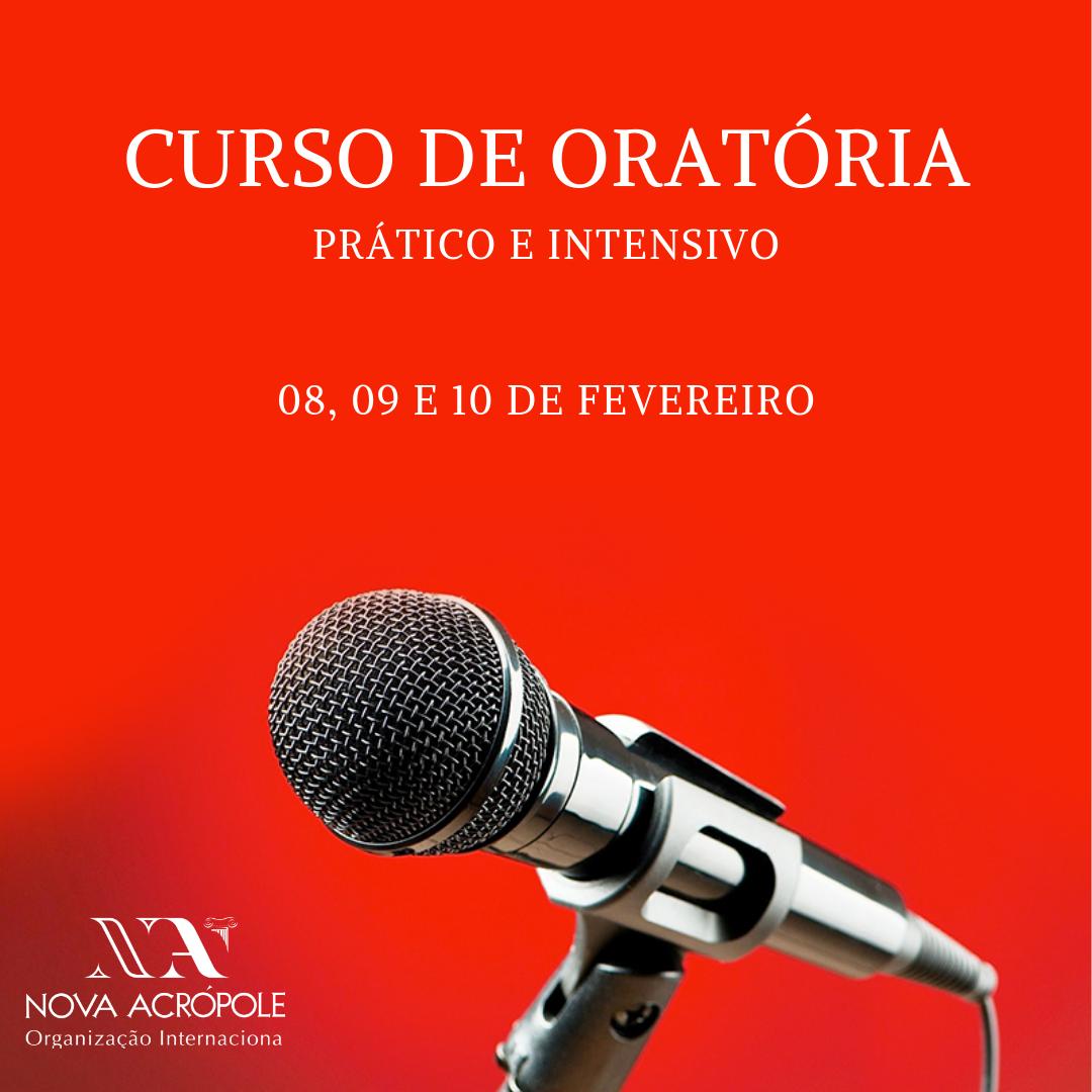 CURSO PRÁTICO DE ORATÓRIA - FEVEREIRO