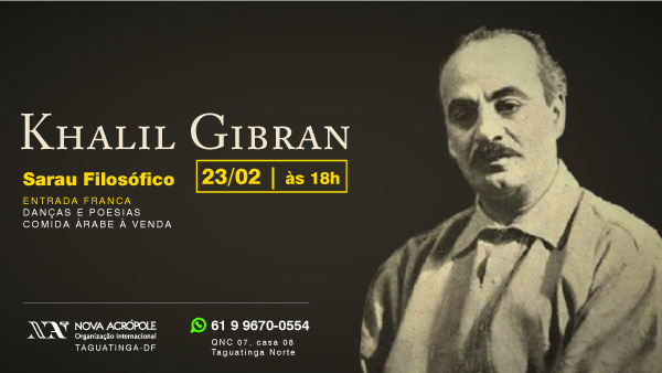 Sarau Filosófico: Khalil Gibran