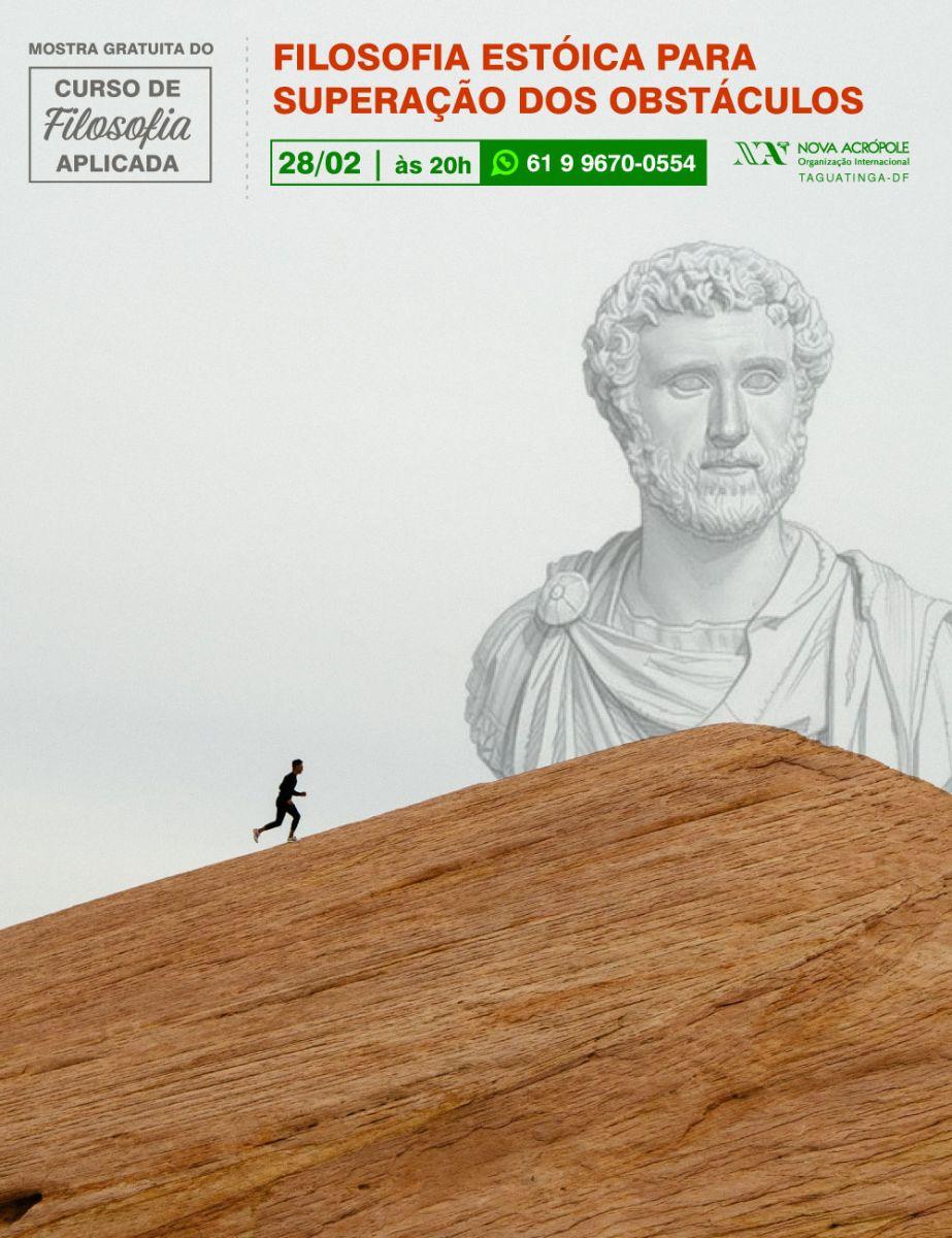 Filosofia Estóica para superação dos obstáculos