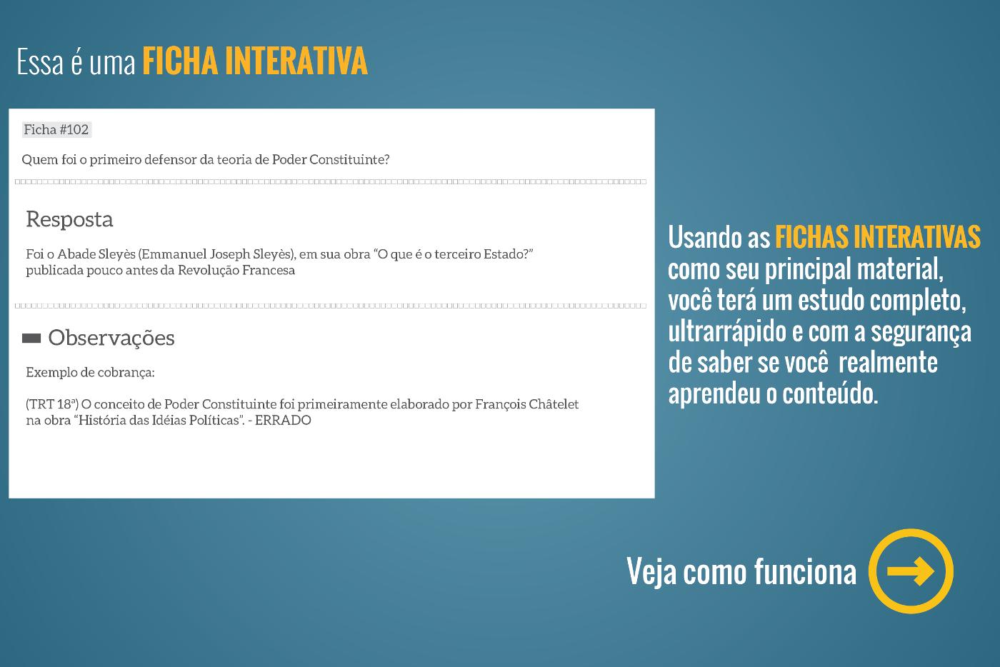 Ficha interativa