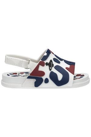 Mini Melissa Beach Slide Sandal II + Vivienne Westwood Anglomania